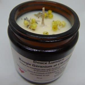 Citronnelle et Géranium